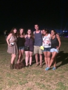 Lindsey, Starr, me, Daniel, Deborah, and Karen