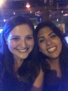 Tanya and me