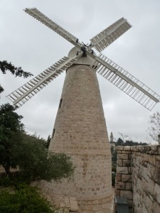 Yemin Moshe is known for this windmill. I don't know why it's here, as our tour guide was too boring to listen to. I'm sorry.