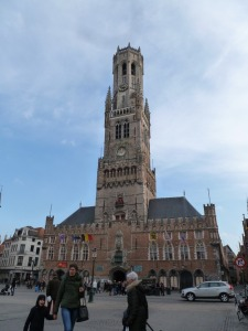This is called the Bruges Belfry. Really gorgeous.