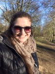 Hyde Park! So lovely to just sit on a park bench and enjoy the beautiful weather!