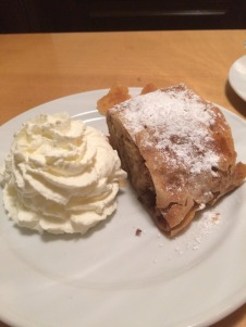 Monster apple strudel