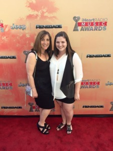 Mom and I rocking the red carpet!