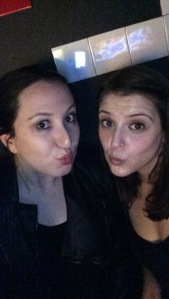Melissa and I love to duckface together