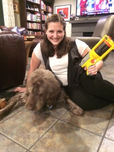 Han Solo and Chewbacca! Clearly I was always meant to wear this costume.