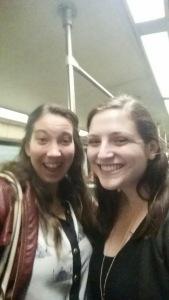 Metro selfie cuteness!