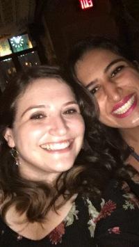 My friend from high school Rebecca!