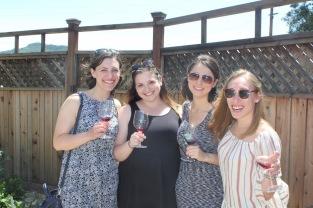 L to R: Shoshana, me, Rachel, Jessyca