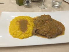Osso Buco with Milanese Risotto
