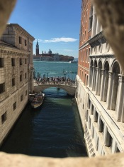 "View from the ""Bridge of Sighs"""